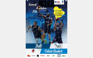Match JALT - Calais Basket