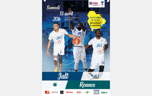 Match JALT - Union Rennes Basket
