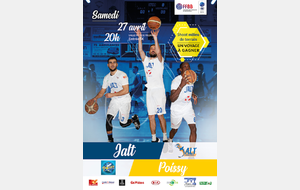 Match JALT - Poissy Basket